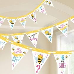 What Will It Bee Party Flag Banner