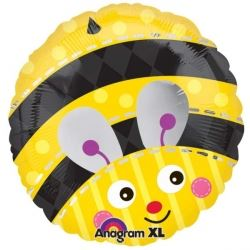 Cute Bumble Bee Foil Party Balloon