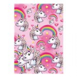 Unicorn Emoji Party Gift Wrap And Gift Tags