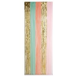 Pastel Party Door Curtain