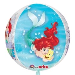 Ariel Dream Big Clear Orbz Party Balloon