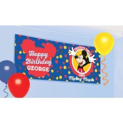 Mickey Mouse Awesome Giant Personnalise Garland Kit Party Banners