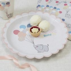 Little One Elephant Party Plates