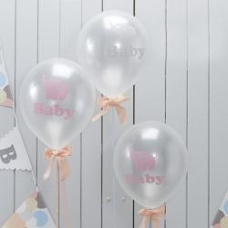 Little One Elephant Party Balloons