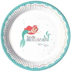 Ariel The Little Mermaid Party Plates