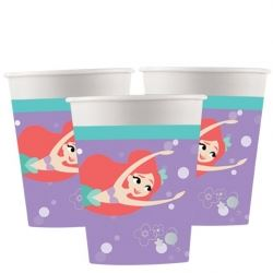 Ariel The Little Mermaid Party Cups