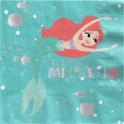 Ariel The Little Mermaid Party Napkins
