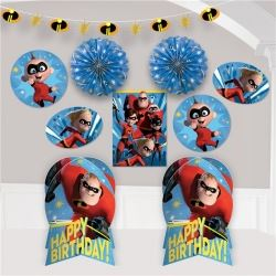 Incredibles 2 Party Room Decoration Kit