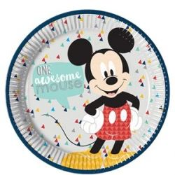 Disney Mickey Mouse Awesome Party Plates
