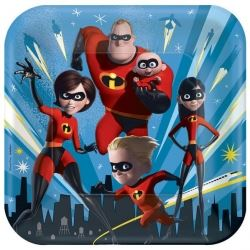 Disney The Incredibles 2 Party Plates
