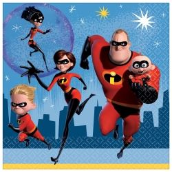Disney The Incredibles 2 Party Napkins