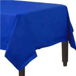 Blue Party Paper Tablecover