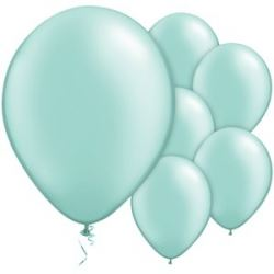 Mint Green Pearl Party Balloons