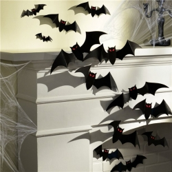 Halloween 3D Bats Decorations