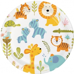 Happi Jungle Party Plates