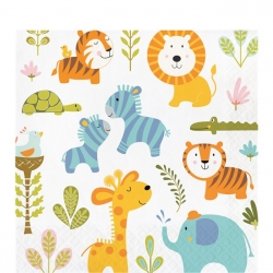 Happi Jungle Safari Party Napkins