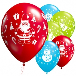 Santa & Friends Festive Party Balloons