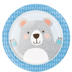 Birthday Bear Party Plates