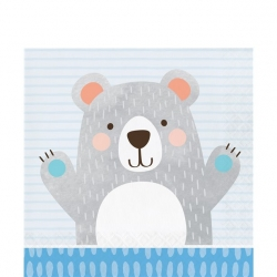 Birthday Bear Party Napkins