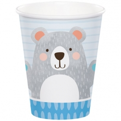Birthday Bear Party Birthday Cups