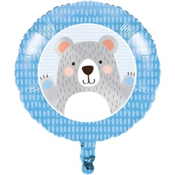 Birthday Bear Party Foil Balloon
