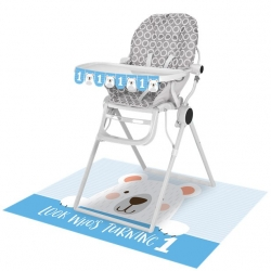 Birthday Bear 1st Birthday High Chair Kit