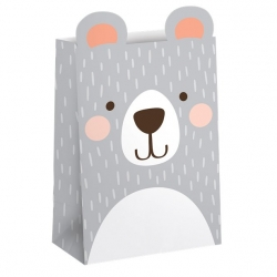 Birthday Bear Party Treat Bags
