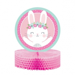 Birthday Bunny Party Honeycomb Centrepiece