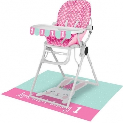 Birthday Bunny 1st Birthday High Chair Kit