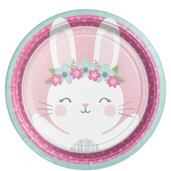 Birthday Bunny Party Plates