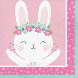 Birthday Bunny Party Napkins
