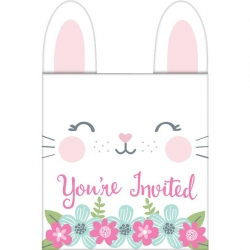 Birthday Bunny Birthday Party Pop Up Invitations