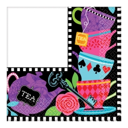 Mad Hatter Party Tea Napkins