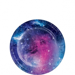 Galaxy Space Party Plates