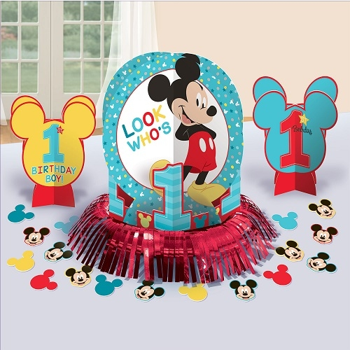 Disney Mickey Mouse Fun At One Party Table Centrepiece