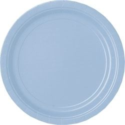 Blue Party Plates