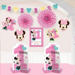 Disney Minnie Mouse Fun At Once Room Decorating Kit