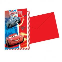 Cars  Party  Invitations