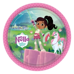 Nella The Princess Knight Party Plates