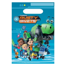 Rusty Rivets Party Bags