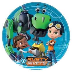 Rusty Rivets Party Plates