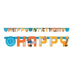 Rusty Rivets Happy Birthday Banners