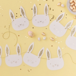 Carrot Crunch Bunny Party Bunting