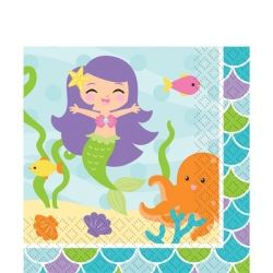 The Little Mermaid Party Napkins