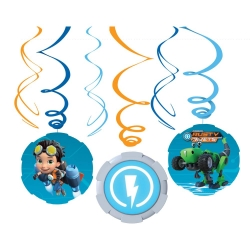Rusty Rivets Party Swirls