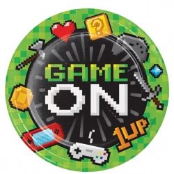 Game On Party Plates