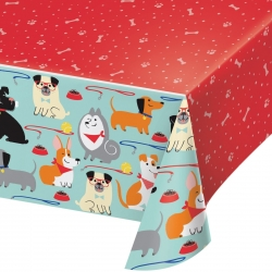 Perfect Paws Puppy Dog Party Tablecovers