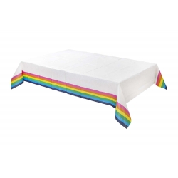 Rainbow Paper Party Tablecovers