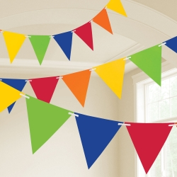 Rainbow Party Flag Banners