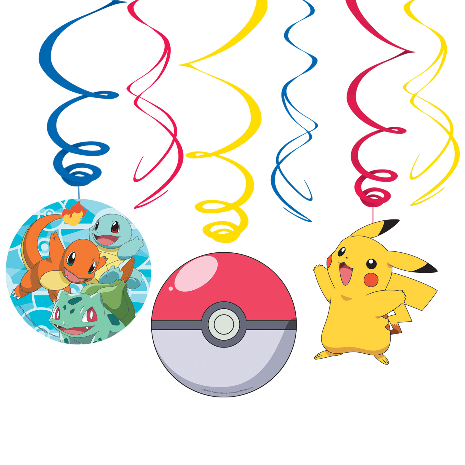 Pokemon Core Party Invitations